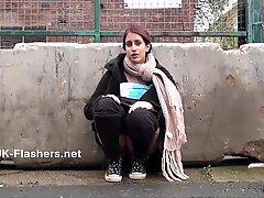 Indian teen Zarina Masoods public masturbation