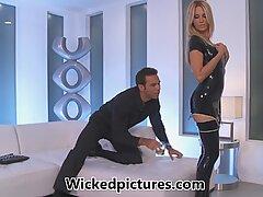 Jessica Drake sensationally fucking in rubber