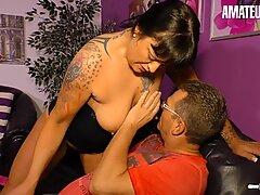 AMATEUR EURO - German Housewife Takes Dick Like A Pro