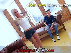 Blow me POV - Big Boobs Milfs Experienced BJs on Young Cocks
