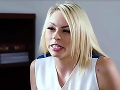 riley reid lesbian scissoring - twin lesbian sex - busty lesbian threesome