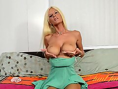 Mature Blonde With Saggy Boobs - Olivia Blu