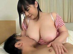 Milker boobs breastfeed