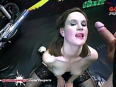 German Goo Girls - Sexy Luisa Crazy For Sperm