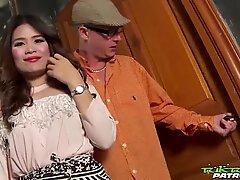 TUKTUKPATROL Horny Thai Babe Covered In Juicy Cum
