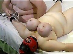 titties ordeal for meaty slave Anja