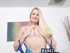 WANKZ- Amateur Teen On Casting Couch