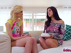 Kendra Spade having the hottest birthday ever with Chloe cherry!