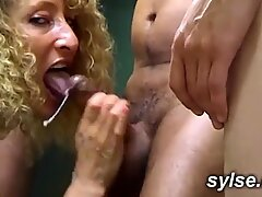 2 hot teachers suck and fuck in classroom - milf compilation